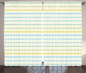 Grunge Pastel Pattern Curtain