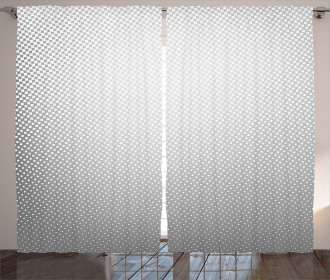 Soft Dots and Spots Curtain