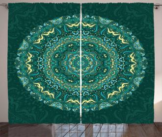 Eastern Mandala Curtain