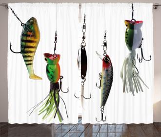 Fishing Baits Hobby Leisure Curtain