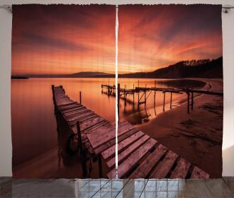 Twilight at Seaside Curtain