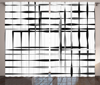 Abstract Art Geometric Curtain