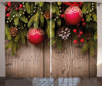 Wooden Rustic Backdrop Curtain