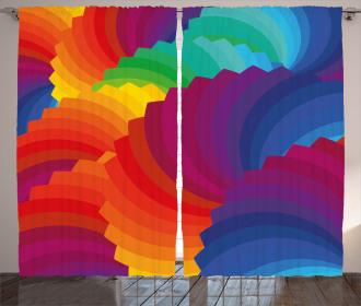 Sea Shell Stripes Curtain