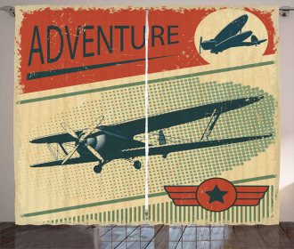 Adventure with Plane Curtain