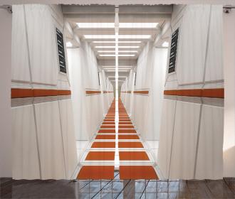 Interior Corridor Curtain