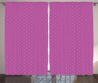 Nostalgic Spots Polka Curtain