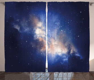 Immense Space Hole View Curtain
