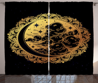 Spiritual Occult Curtain