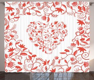 Paisley Design Curtain