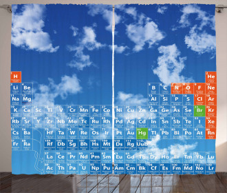Clouds and Chemistry Curtain