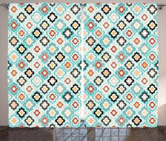 Ottoman Heraldic Style Curtain
