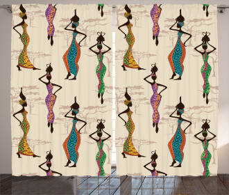 Vintage Loval Traditional Curtain