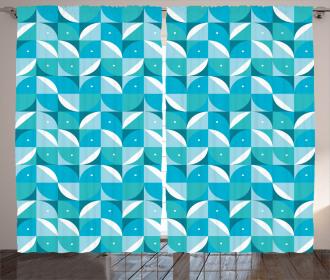 Half Circles Triangle Curtain