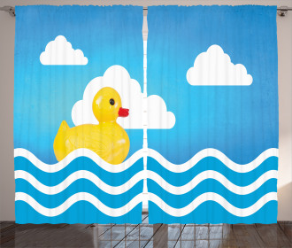 Cute Toy Wavy Water Curtain