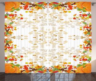 Maple Leaf Woods Curtain