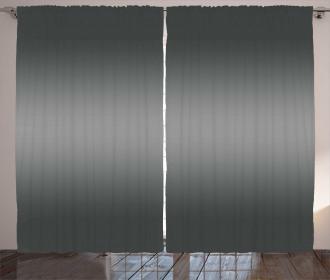 Grey Smoke Fume Design Curtain