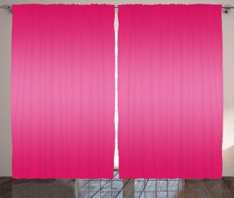 Modern Pink Room Design Curtain