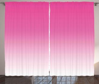Digital Hot Pink Design Curtain