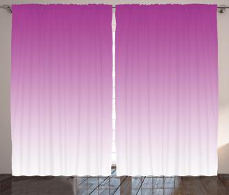 Romantic Modern Flowers Curtain