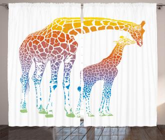 Surrealist View Curtain