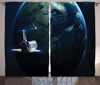 Spaceship Earth Fiction Curtain