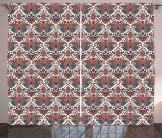 Oriental Ethnic Persian Curtain