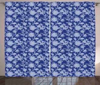 Paisley Pattern Ottoman Curtain