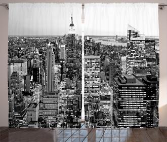 New York Manhattan Curtain