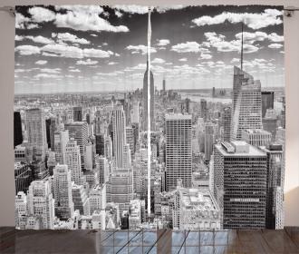Manhattan Urban Scenery Curtain