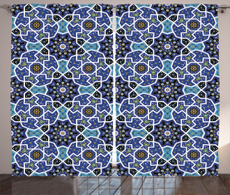 Persian Gypsy Design Curtain