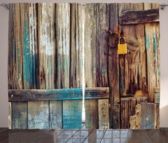 Color Details Mansion Curtain