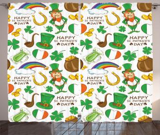 Irish Party Curtain