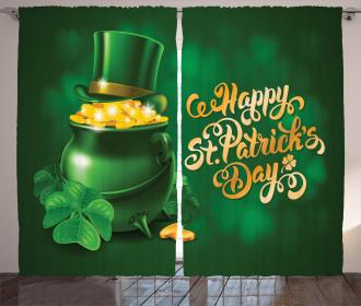Irish Pot of Gold Curtain