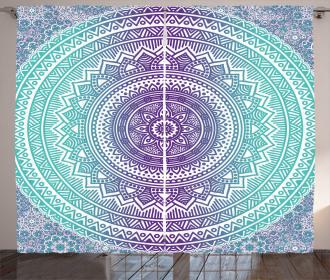 Hippie Mandala Curtain