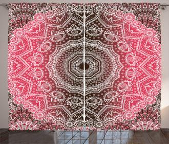 Retro Bohemian Ombre Curtain