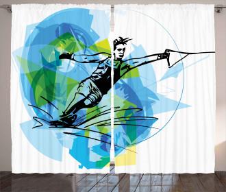Exotic Sealife Hobby Curtain