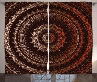 Ethnic Universe Curtain