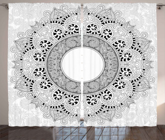 Asian Design Curtain