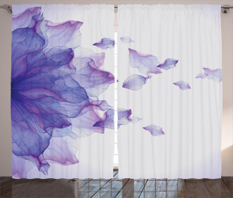 Abstract Modern Water Curtain