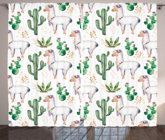 Camel Animal Pattern Curtain