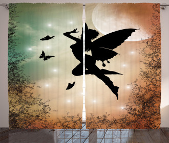 Fairy and Butterfly Wing Curtain