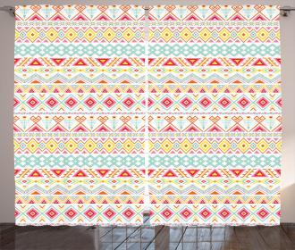 Native Style Aztec Art Curtain