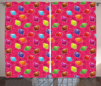 lllustration of Candy Curtain