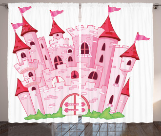 Princess Magic Kingdom Curtain