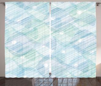 Modern Image Stripes Curtain