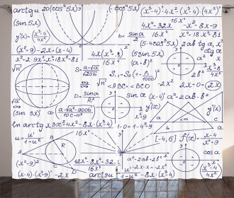 Student Geometry Curtain