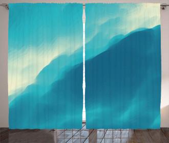 Artwork Cloud Wave Curtain
