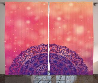 Ethnic Henna Curtain