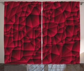 Modern Contemporary Art Curtain